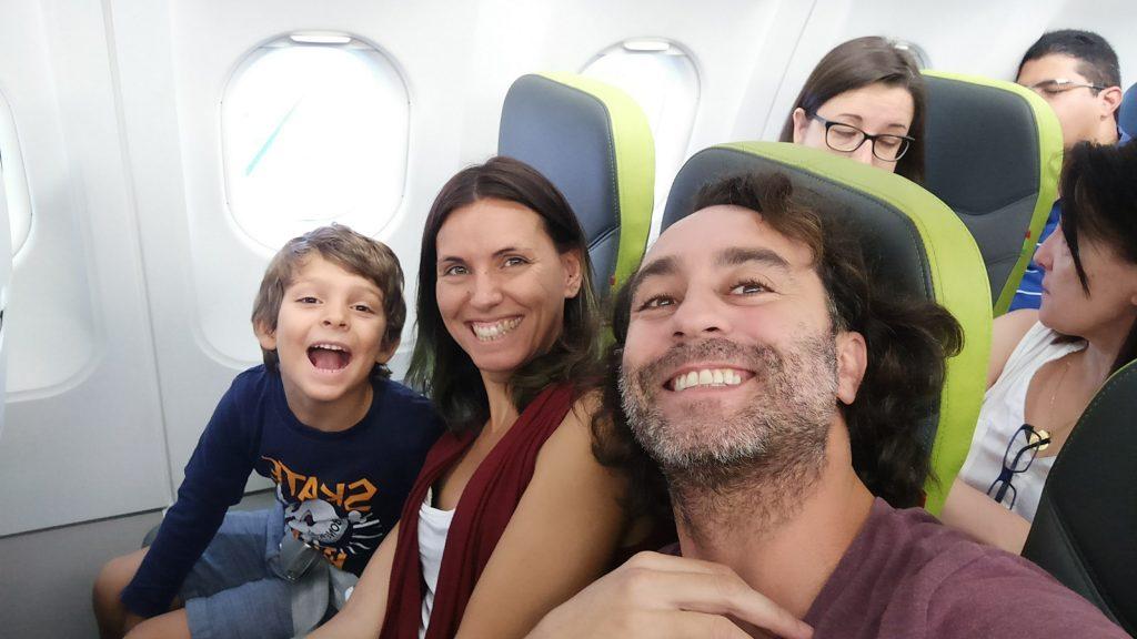 Nuestro primer avión juntos