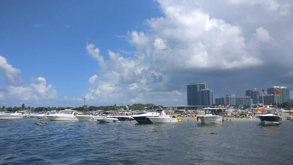 Vistas desde la marina