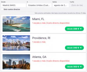 Miami más barato